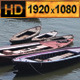 Boats on Ganges River India - VideoHive Item for Sale