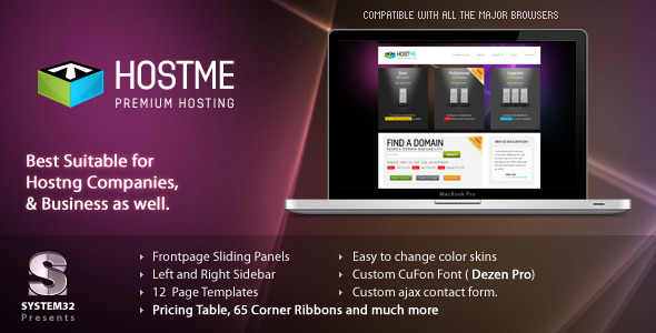 Hostme – Premium Hosting & Business Template