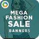 Mega Fashion Sale Banners