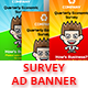 Take The Survey Ad Banner - CodeCanyon Item for Sale
