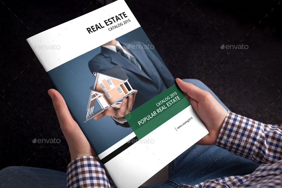 Real Estate Brochure Template By Alhaytar Graphicriver