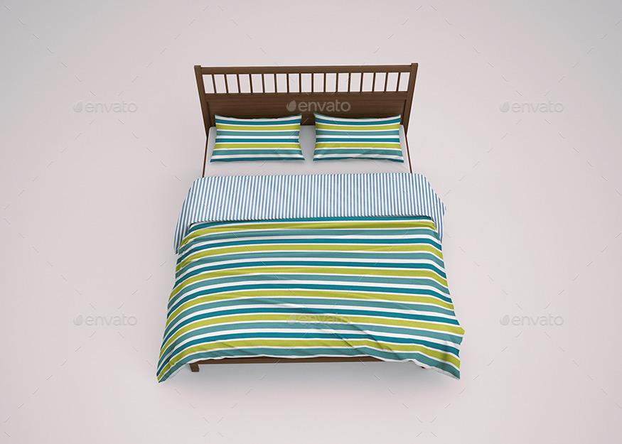Bed Linen Bedding Sets Mockup By Goner13 Graphicriver