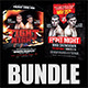 Fight Night Flyer Bundle  - GraphicRiver Item for Sale