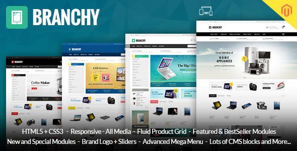 Branchy – Magento Responsive Theme