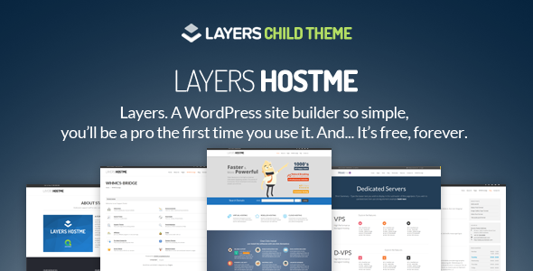 Hostme – LayersWP Multipurpose Child Theme