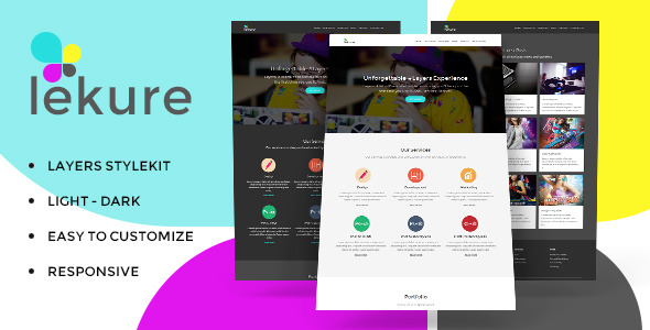Download Sourcode              Lekure - Layers Style Kit nulled version