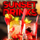 Sunset Drinks Flyer - GraphicRiver Item for Sale