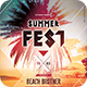Summer Fest Flyer - GraphicRiver Item for Sale