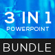 3 In 1 PowerPoint Template Bundle - GraphicRiver Item for Sale