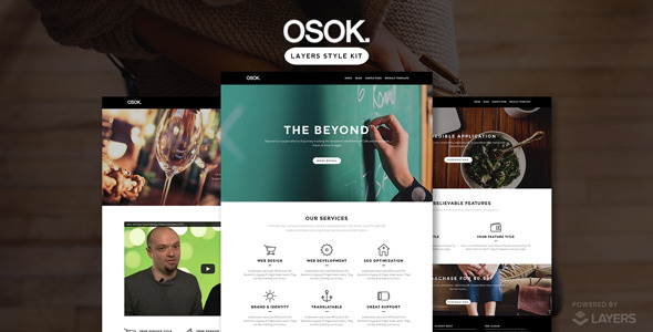 Osok - Style Kit for the Layers Framework - CodeCanyon Item for Sale