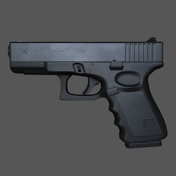 Glock 19 - 3DOcean Item for Sale