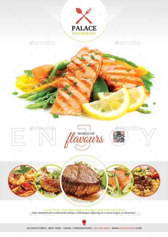 restaurant   magazine ad by