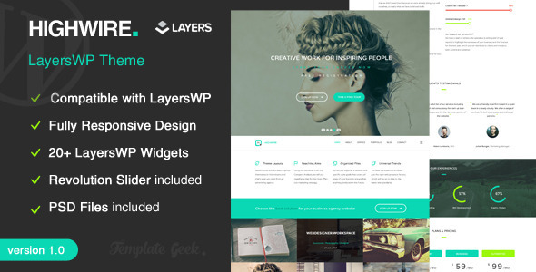 Highwire – LayersWP Business WordPress Theme
