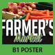 Farmer's Market Commerce B1 Poster - GraphicRiver Item for Sale