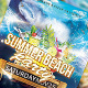 Summer Spring Party Flyer Template - GraphicRiver Item for Sale