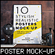Posters Mock-up - GraphicRiver Item for Sale