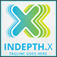 Indepth X - Logo Template - GraphicRiver Item for Sale