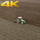 Aerial Tractor Working Field - VideoHive Item for Sale