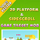 2D Platform & Sidescroll Tileset #8 - GraphicRiver Item for Sale