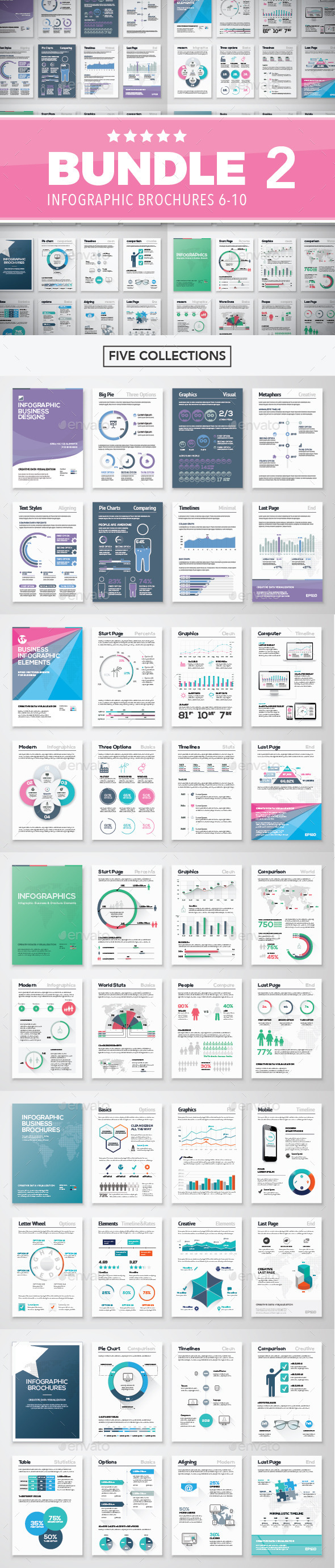 Infographic Brochure Elements Bundle 2