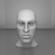 Human Head Mesh - 3DOcean Item for Sale