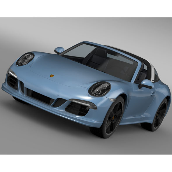 Porsche 911 Targa 4s Exclusive 2015 - 3DOcean Item for Sale