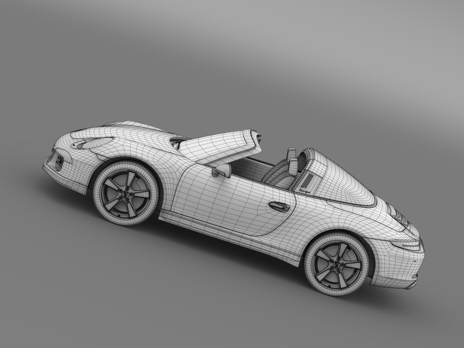 Porsche 911 Targa 4s Exclusive 2015 by creator_3d   3DOcean on bmw m6 convertible white, porsche targa 4s 997, nissan 350z white, porsche 991 targa 4s, porsche cayman r white, range rover sport white, porsche boxster spyder white, porsche cayman s white, porsche boxster s white, porsche 997 turbo white,