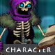 Character Sprite: Skeleton Mage - GraphicRiver Item for Sale