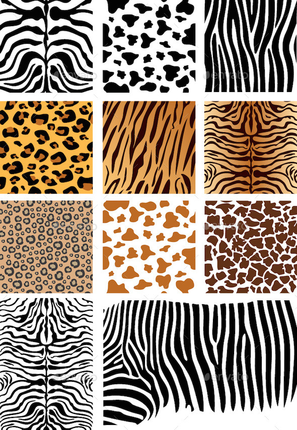 Animal Skin Patterns - Patterns Decorative