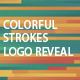 Colorful Strokes Logo Reveal - VideoHive Item for Sale
