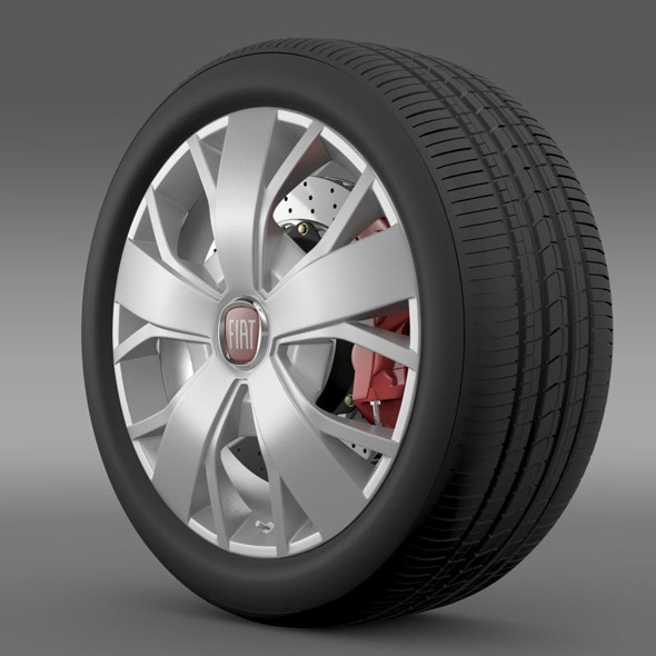 Fiat Ducato Van L2H2 wheel - 3DOcean Item for Sale