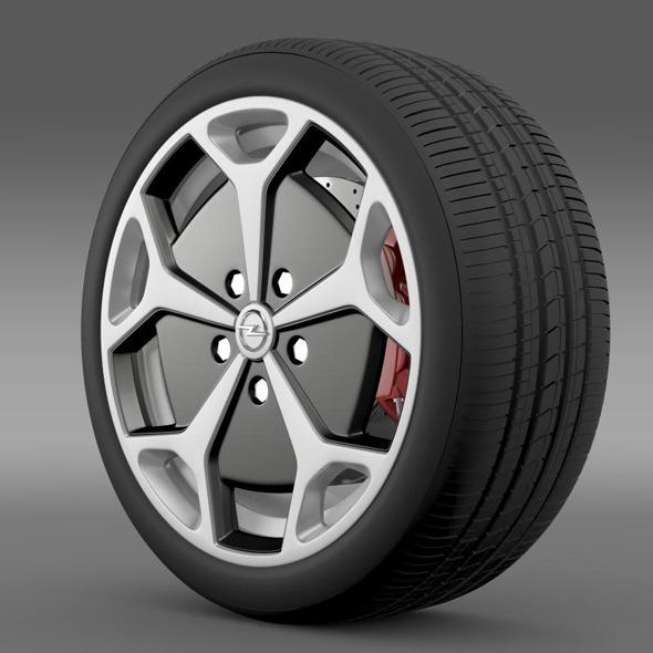 Opel Ampera wheel - 3DOcean Item for Sale