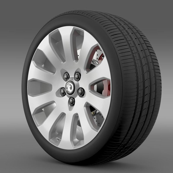 Vauxhall Insignia wheel - 3DOcean Item for Sale
