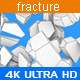 Abstract Fracture Background with Edges - VideoHive Item for Sale