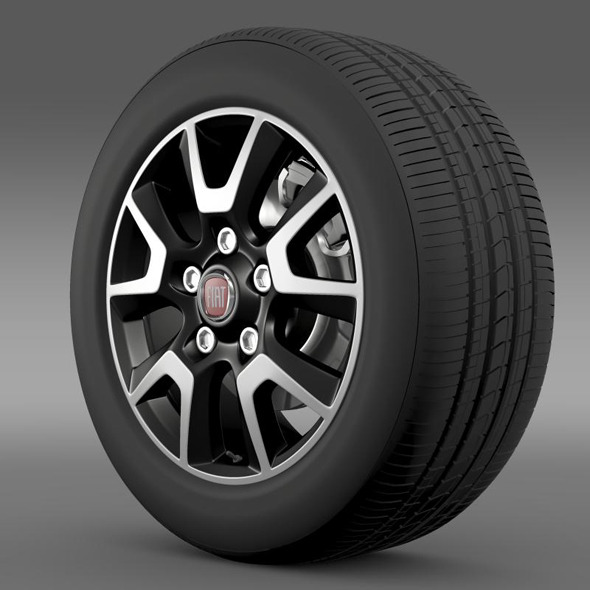 Fiat Ducato Panorama wheel - 3DOcean Item for Sale