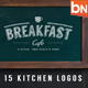 15 Kitchen logos - GraphicRiver Item for Sale