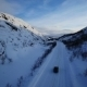 Winter Driving - Winter Road Country Road Leading - VideoHive Item for Sale