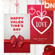 Valentines Card & Background - GraphicRiver Item for Sale