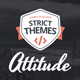 Attitude - Multimedia Portfolio WordPress Theme for Media Artists