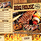 BBQ / Steak Menu Pack - GraphicRiver Item for Sale