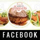 Restaurant Facebook Timeline Cover - GraphicRiver Item for Sale