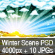 Winter Frost & Snow Scene - GraphicRiver Item for Sale