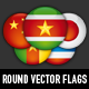 Round Vector Flags - GraphicRiver Item for Sale
