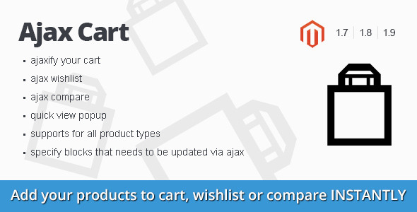 Ajax Cart magento extension - CodeCanyon Item for Sale