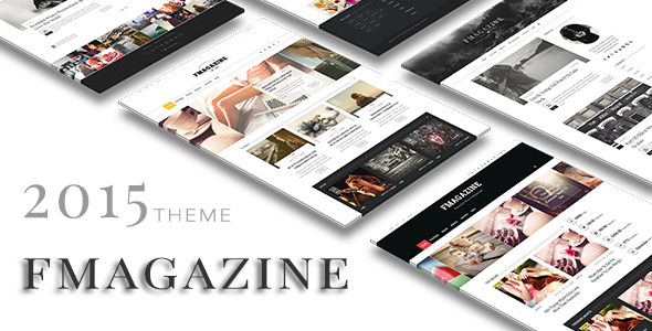 F – Magazine WordPress Theme