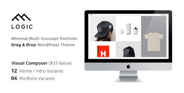 LOGIC – Minimal Multi-Concept Portfolio WP Theme
