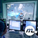 Assistant Controls a Cardio Surgery on Monitors - VideoHive Item for Sale