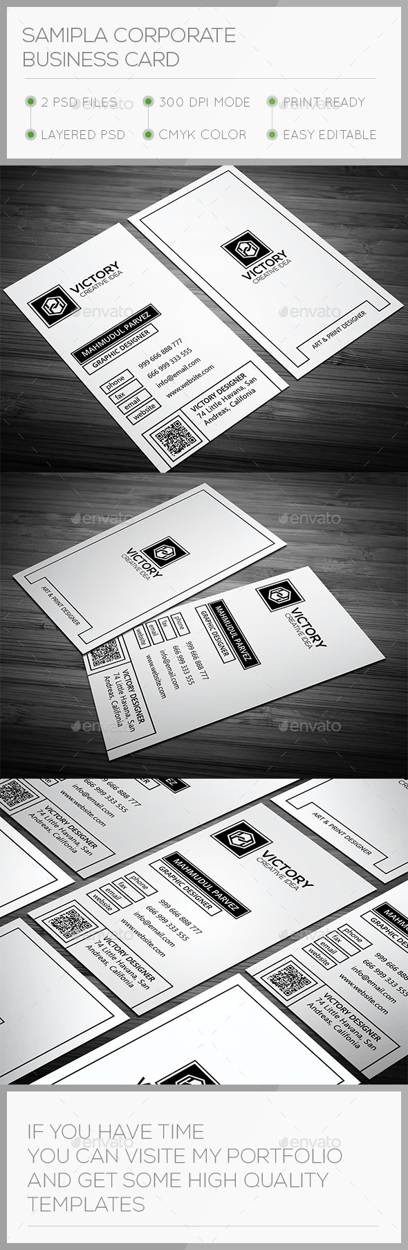 Samipla Corporate Business Card - Corporate Business Cards