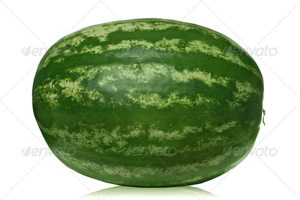 watermelon isolated on white - Stock Photo - Images