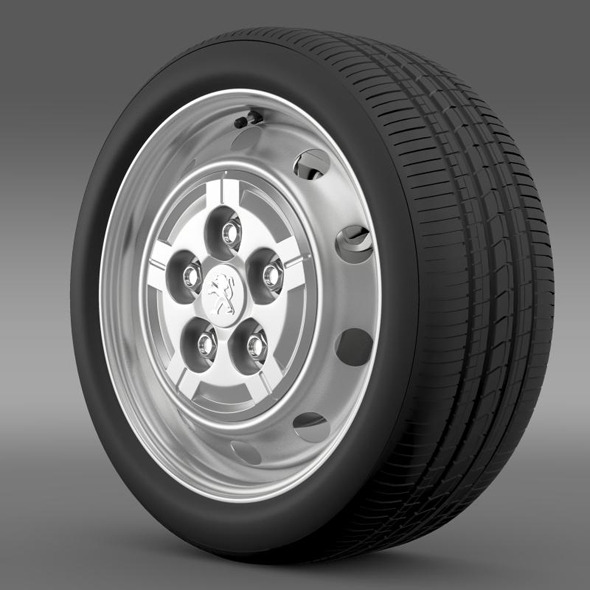 Peugeot Boxer Van wheel - 3DOcean Item for Sale